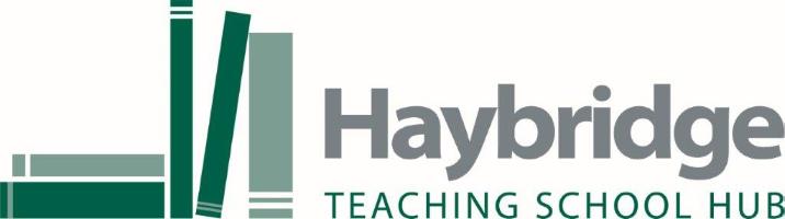 Logo reads Haybridge Teaching School